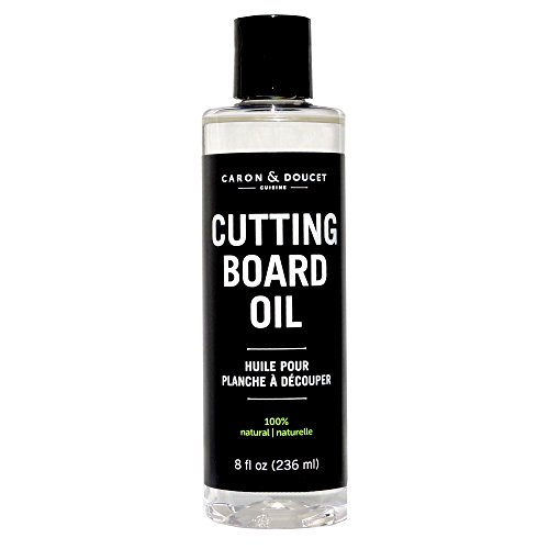 Caron & Doucet - Coconut Cutting Board Oil & Butcher Block Oil - 100% Plant Based, Made From Refined...