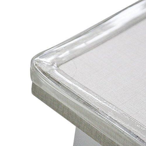 Cunina Baby Safety Corner Protector Table Edge Corner Cushion Strip con 4/Pezzi paraspigoli a Prova di Bambino Never ending Trasparente 2/m Baby Bumper Strip