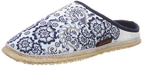 Giesswein WoMen Palt Open Back Slippers Blue (Dk.blue)