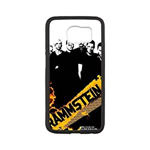 Personalized Durable Cases Samsung Galaxy S6 Cell Phone Case White Rammstein Luaev Protection Cover