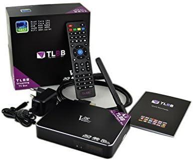 Venz Technology V8 4K Caja de Smart TV 16 GB WiFi Ethernet Negro ...