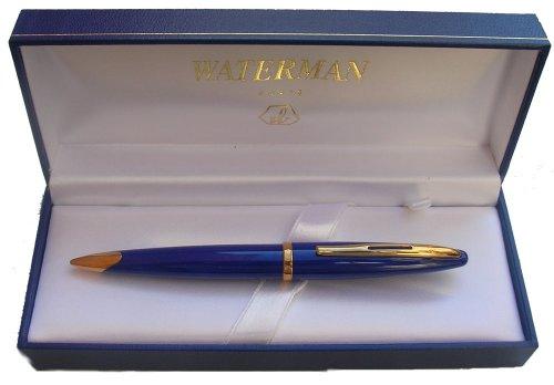 Waterman Carene Abyss Blue Gold Trim 0.7MM Mechanical Pencil - Gold Trim Mechanical Pencil