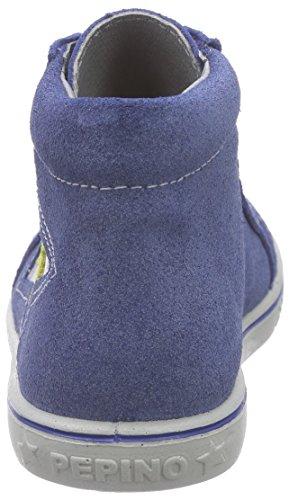 Blau 160 enzian Garçon Hautes Bleu Mario Ricosta Baskets C6qwfXB