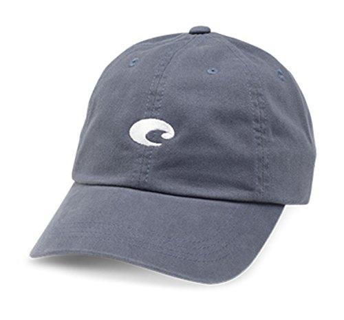 Costa Del Mar Mini Logo Hat, Slate - Company Sunglass Logos