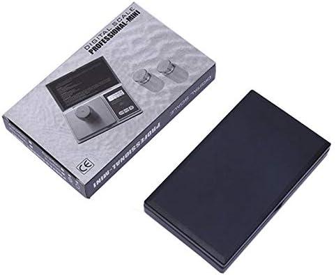 Webla Balance Électronique Noire 500G / 0.1G Balance De Précision Jewelr Balance Électronique Cordyceps Nest Pocket
