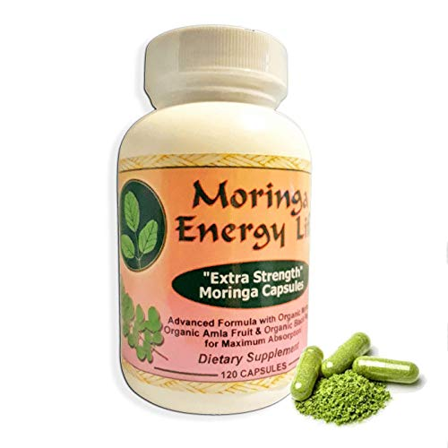 Moringa Capsules Extra Strength Supplement product image
