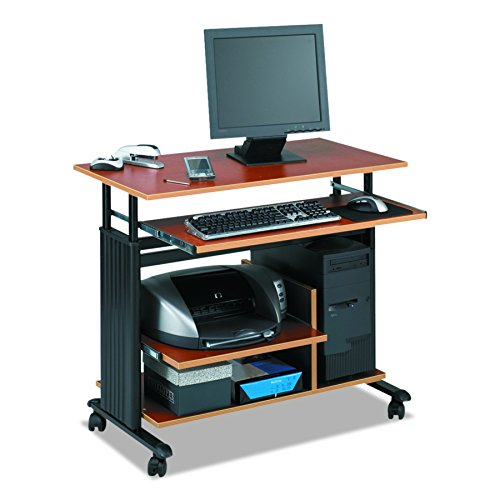 Safco Adjustable Workstation - Safco Products 1927CY Muv Mini Tower 29-34
