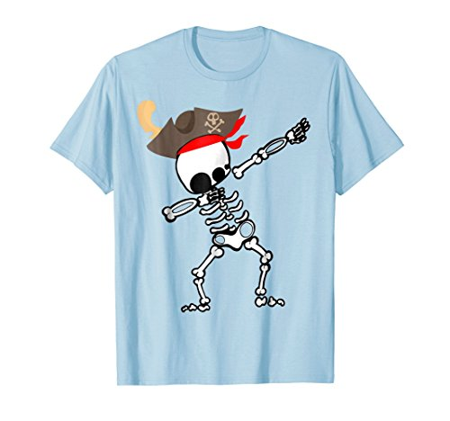 Dabbing Skeleton With Pirate's Hat T-shirt Gift