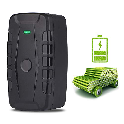 GOLOPHY Car Tracker Device-Lifetime Free Tracking Real Time 3G GPS Tracker Car Tracking Device Hidden Outdoor Strong Magnet Gear Waterproof Locator for Fleet Vehicle Motorcycle Truck Magnets 20000mAh