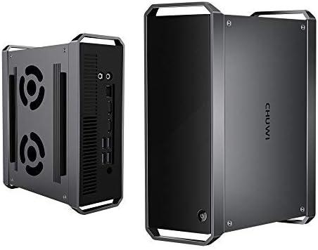 CHUWI CoreBox Mini pc, Intel Core i5 Windows10 OS, Quad Core 64 bit 2.7GHz hasta 3.3GHz, 8GB RAM 256GB ROM, HDPC 2.2, BT 4.0 y Dual WiFi