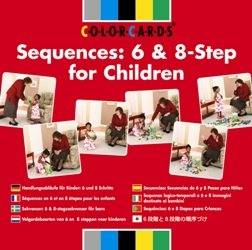 Sequences Flashcards: 6 & 8 Step for Children by Speechmark