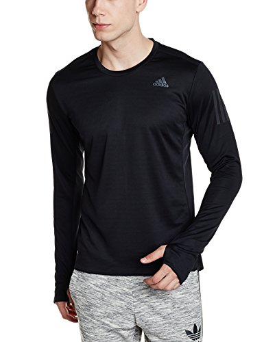Adidas Rs Manga Larga Camiseta Tee Negro De negro Ls M Hombre ZAxqZR1
