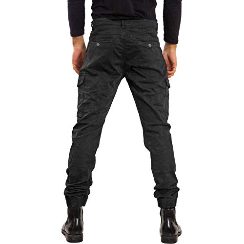 Pa2018 Laterali Cotone Militari Casual Grigio Pantaloni Cargo Toocool Tasconi Uomo wS8PxXq