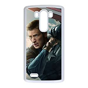 Captain America LG G3 Phone Case Black white Gift Holiday Gifts Souvenir Halloween Gift Christmas Gifts TIGER156629