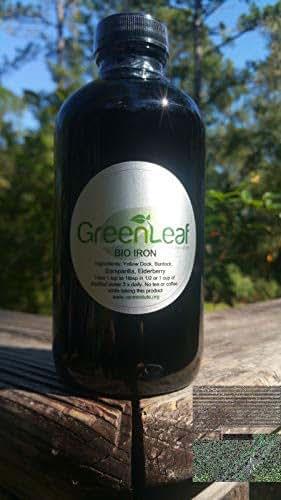 (Spoken of by Dr. Sebi) Bio Iron Tonic/Herbal Iron- 8oz Liquid
