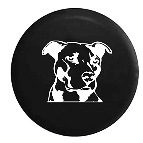Pitbull Terrier Jeep Spare Tire Cover