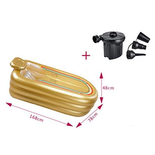 LQQGXL,Bath Inflatable bathtub Electric pump Keep warm Insulation temperature Adult children Family bathtub Folding bath Inflatable bathtub by LQQGXL