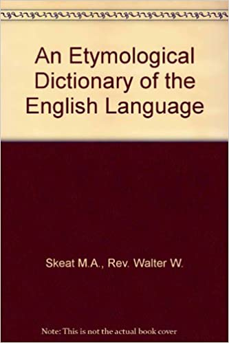Pdf dictionary english etymology