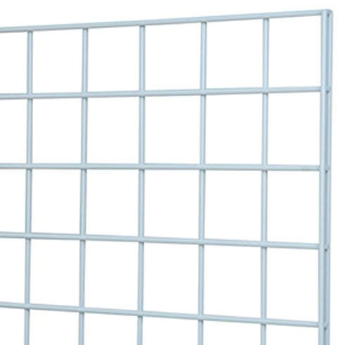 Gridwall 2x6 Panels Retail Display Rack Store Fixture Used for Clothing Gun Jewelry Display White Lot of 12 NEW