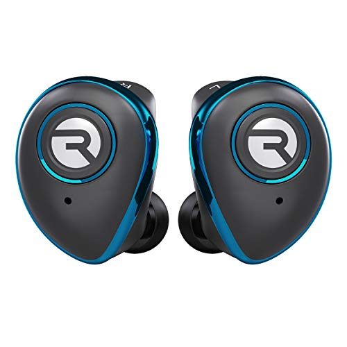 Raycon E50 Wireless Earbuds Bluetooth Headphones - Bluetooth 5.0 Bluetooth Earbuds Stereo Sound in-Ear Bluetooth Headset True Wireless Earbuds 25 Hours Playtime and Built-in Microphone Blue