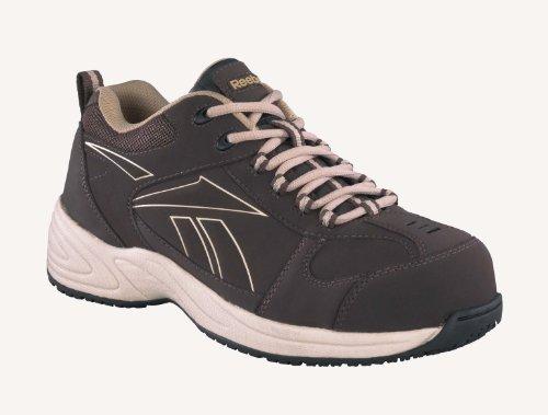 Reebok Men's Jorie Composite Toe Sneaker Dark Brown 5.5 - Jorie Brown