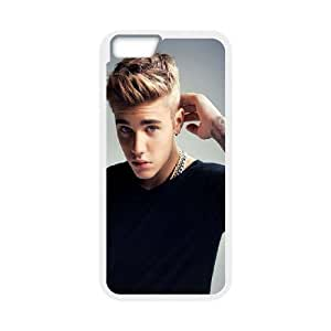 Custom High Quality WUCHAOGUI Phone case Singer Prince Justin Bieber Protective Case For Apple Iphone 6 4.7 inch screen Cases - Case-18