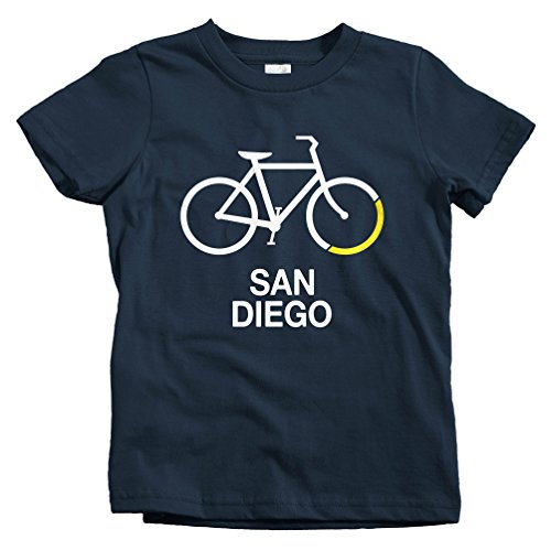 Smash Transit Kids Bike San Diego T-Shirt - Navy, Youth Large