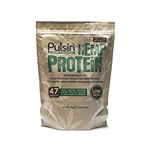 (3 PACK) – Pulsin – Hemp protein powde...