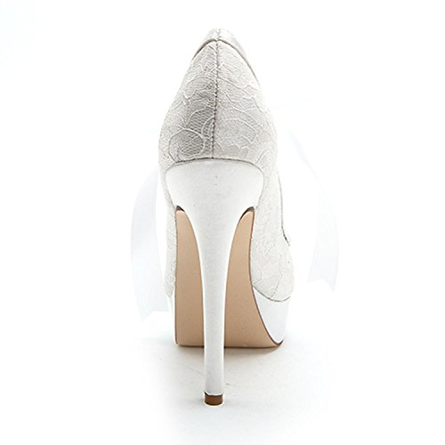 Platform Toe Shoes Multi YC Large Down Platform Fine Wedding Color Size Women'S Pink L With Open Silk 7CXPqSPt