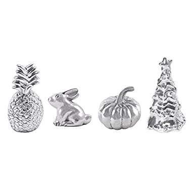 Mariposa Weight Set of 4 Promotion - Pineapple, Bunny, Pumpkin & Christmas Tree