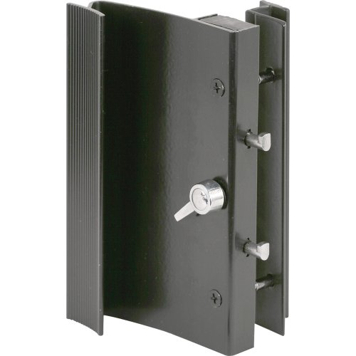 Slide-Co 14183-B Sliding Door Handle Set, Black Aluminum by Slide-Co (Image #2)