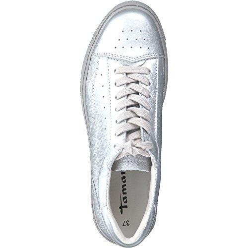 silver Femme Basses Sneakers Tamaris 23685 wqZtIIf