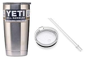 Yeti 2 Piece Bundle Tumbler with Straw Lid, 20 oz.