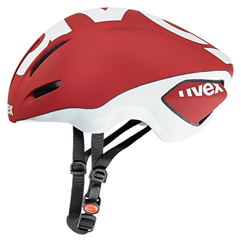 (Uvex Edaero Red-Black Helmet 2016)