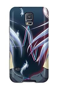 New Tpu Hard Case Premium Galaxy S5 Skin Case Cover(angel Beats)