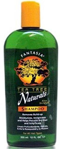 Fantasia Tea Tree Naturals Shampoo, 12 oz