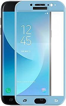 Mb Accesorios Protector Cristal Templado Completo 4D Azul Samsung Galaxy J7 2017 J730 Azul: Amazon.es: Electrónica