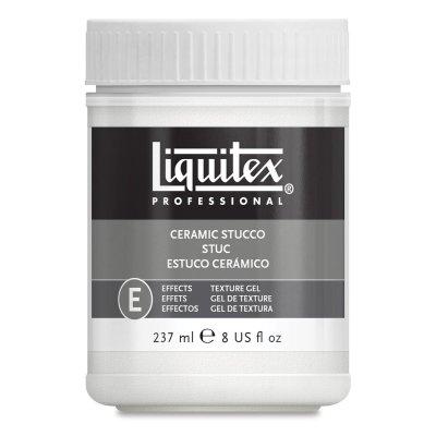 Liquitex Texture Gels - Ceramic Stucco, 8 oz from LIQUITEX / COLART
