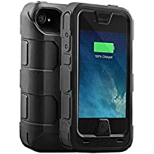 Mophie Juice Pack PRO Battery Case for iPhone 4/4S -Black (Certified Refurbished)