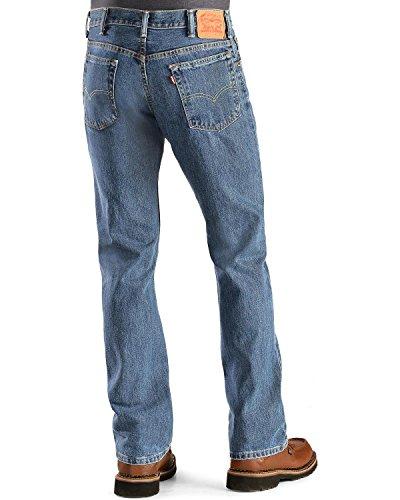 Levi's Men's 517 Boot Cut Jean, Medium Stonewash, 34x32 (Bootcut Levis)