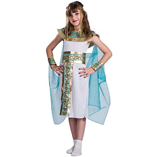 Cleopatra Costume for Girls, Deluxe Egyptian Costume Kids Set ()