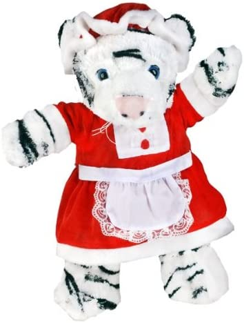 """Mrs Claus Outfit Teddy Bear Outfit Fits Most 14/""""-18/"""" Build-a-bear and Make Your"""