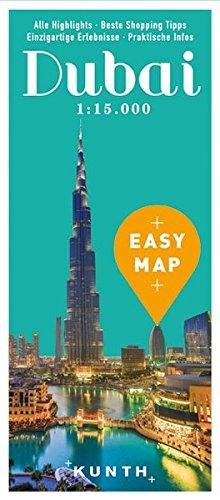 EASY MAP Dubai: 1:15.000/1:100.000 (KUNTH EASY MAP)