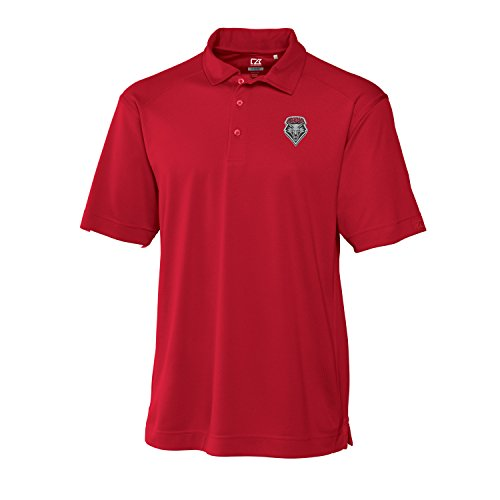 Cutter & Buck NCAA New Mexico Lobos Men's CB Dry Tec Genre Polo, X-Large, Red