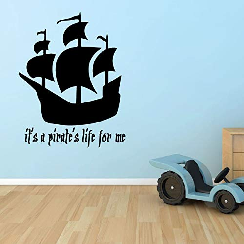 Pirate Ship Wall Decal - It