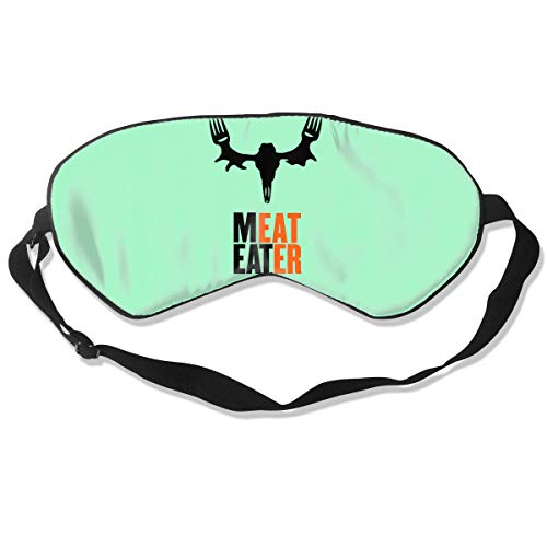 Sleep Mask Meat Eater Eye Cover Blackout Eye Masks,Breathable (Mask Meat Eater Mask)