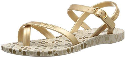 Ipanema Fashion Sand II Mädchen Zehentrenner - Doré (20352/Beige/Gold)