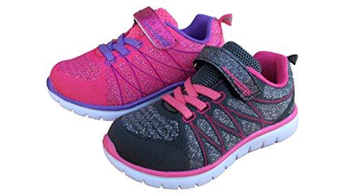 Toddler Kid's Girl Pink Purple Sneakers Running Shoes