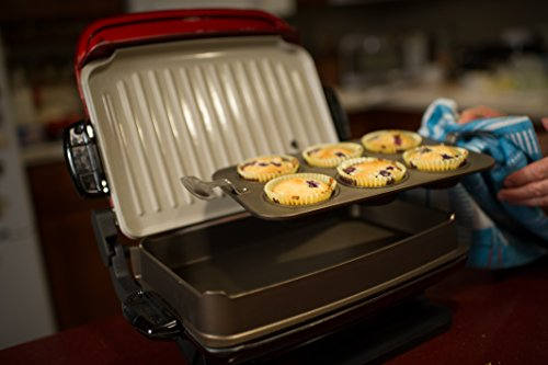 George Foreman GRP4800R Multi-Plate Evolve Grill (Ceramic Grilling Plates Deep- & George Foreman GRP4800R Multi-Plate Evolve Grill (Ceramic Grilling ...
