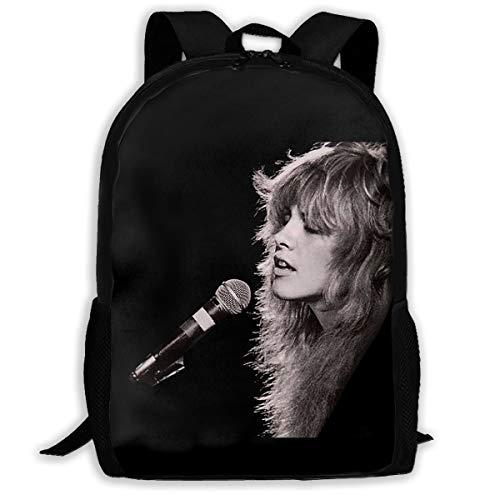 Backpack, Travel Hiking Divinity Stevie Nicks Backpacks Waterproof Big Student College High School Shoulder Bag Outdoor Backpacks For Men Women Adults (Stevie Diaper Bag)